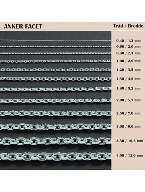 BNH Anker Facet, sølv